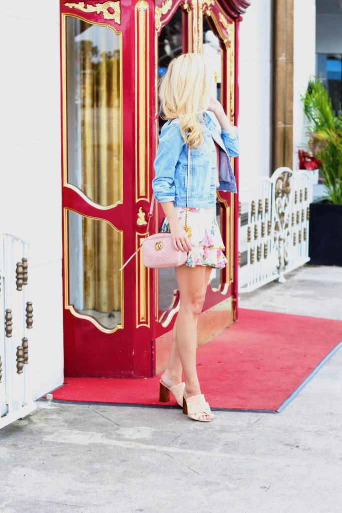 May Day Floral Mini Skirts and the Must-Have Denim Jacket