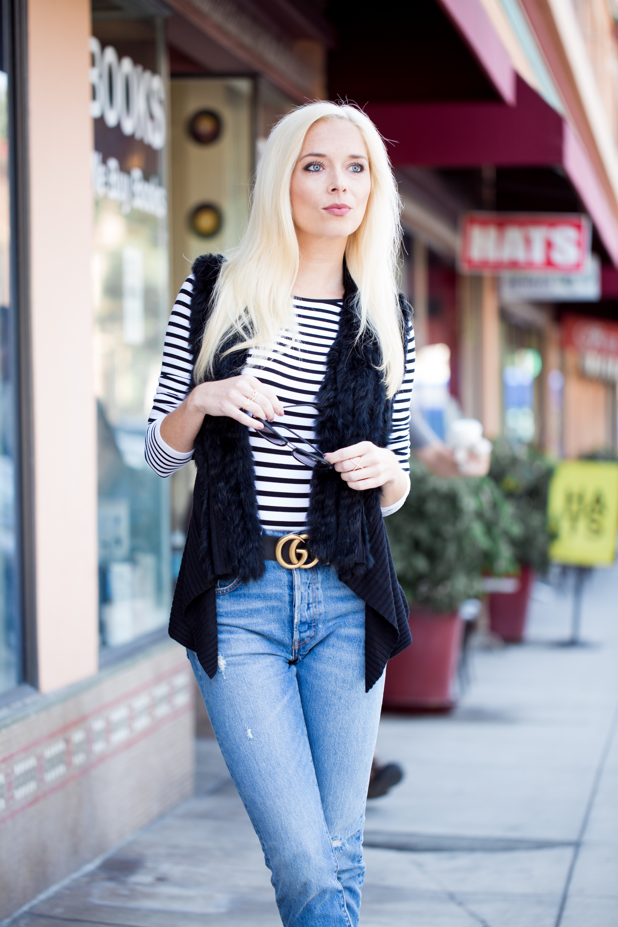 Fur Vests, Stripes and Booties   Midwest to the Best