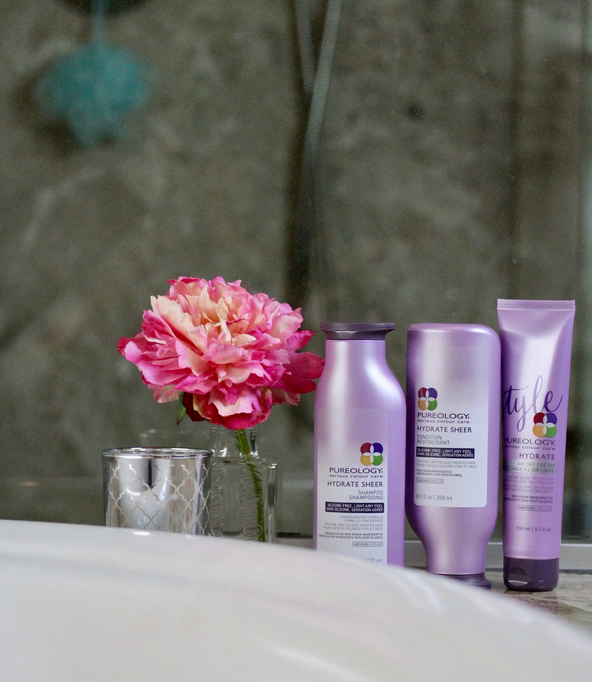 Hydrate, Add Volume and Skip the Hair Dryer with Pureology
