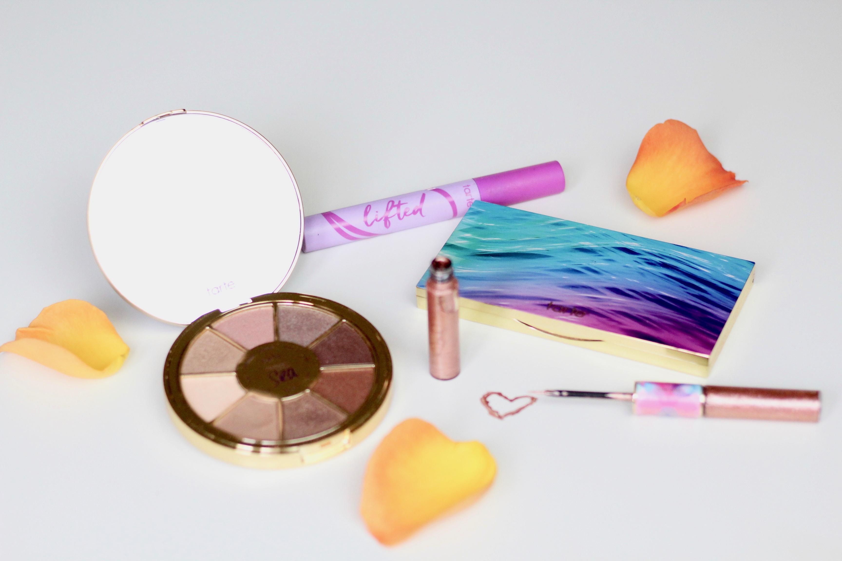 Tarte Cosmetics    Bright Moisturizers, Highlights, Eyeshadow and Lipstick