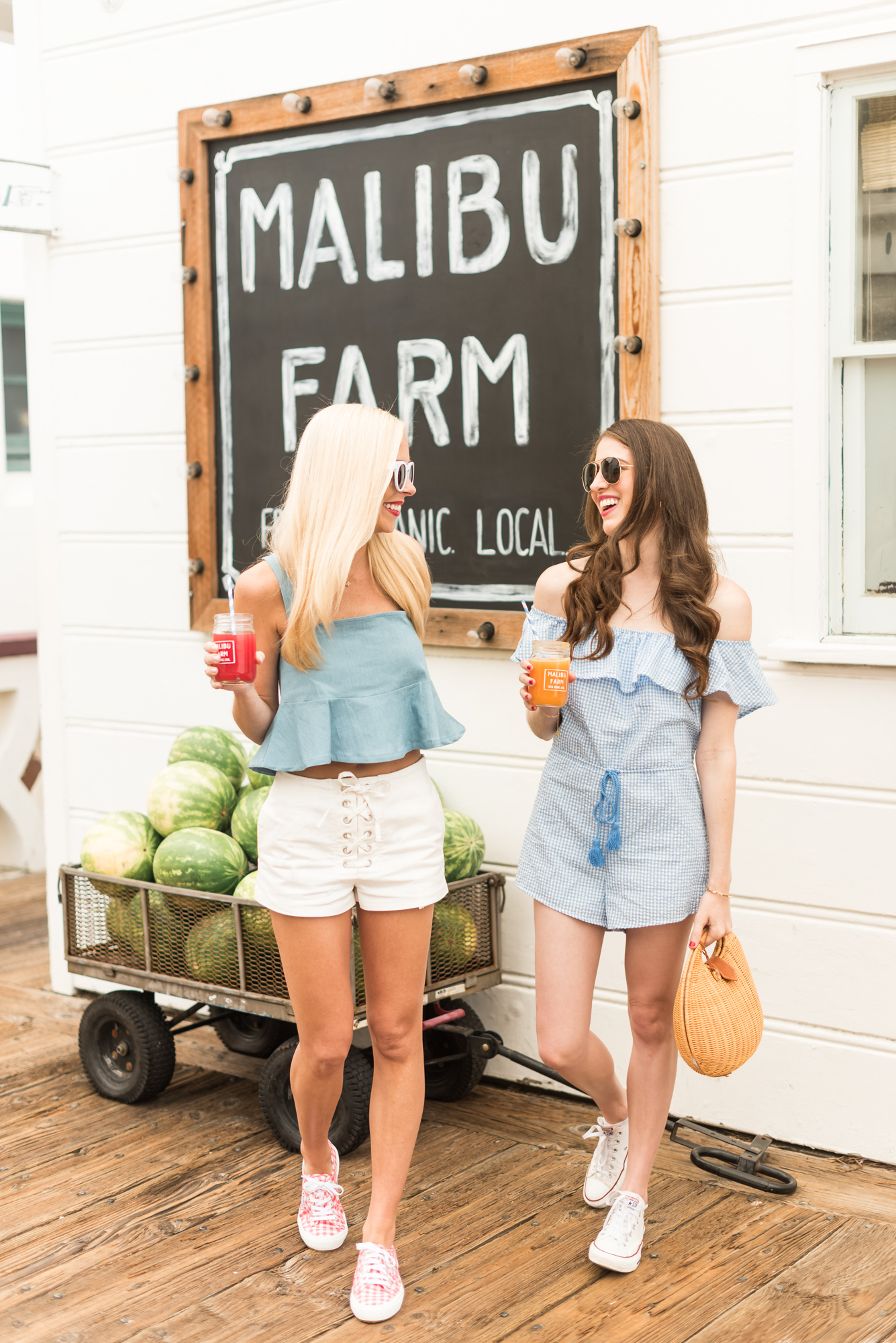 Midwest to the Best | Cool for the Summer with Gingham and Chambray