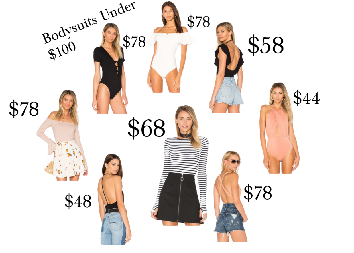 How to Style Bodysuits This Summer | My Top Picks Under $100