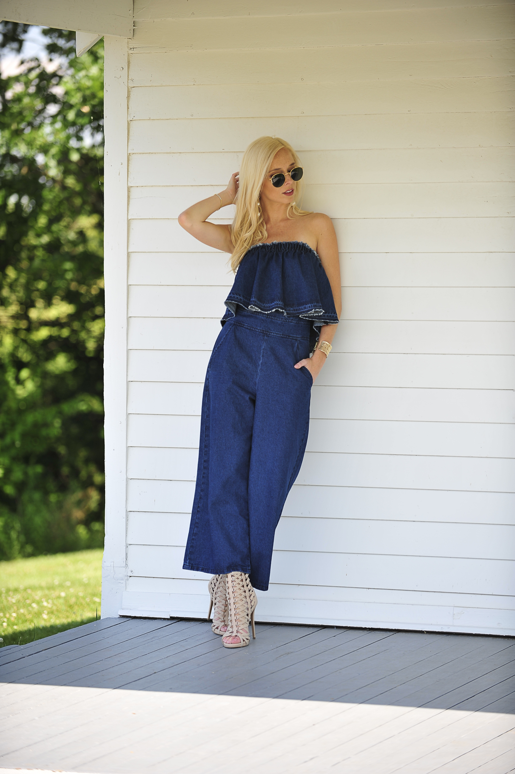 Summer Wardrobe Must Have || Denim Jumpsuit