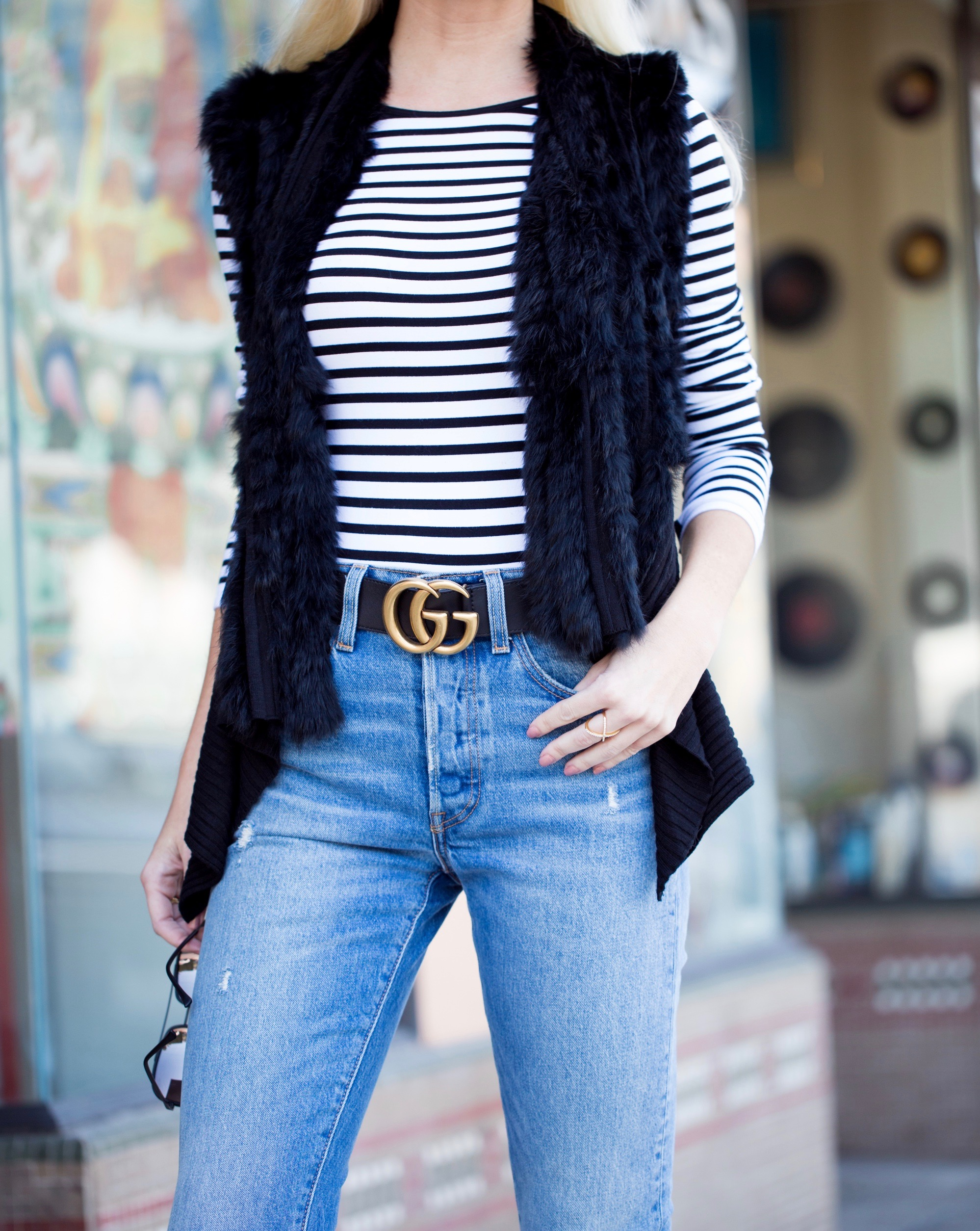 Fur Vests, Stripes and Booties | Midwest to the Best